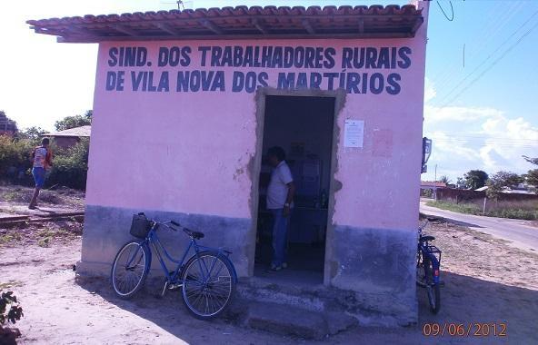Sede do Sindicato dos Trabalhadores Rurais de Vila Nova dos Martírios