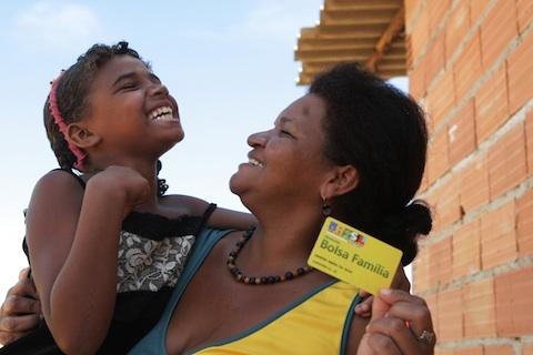 12% das famílias beneficiadas pelo Bolsa Família deixaram voluntariamente o programa (Foto: Bruno Spada / MDS)
