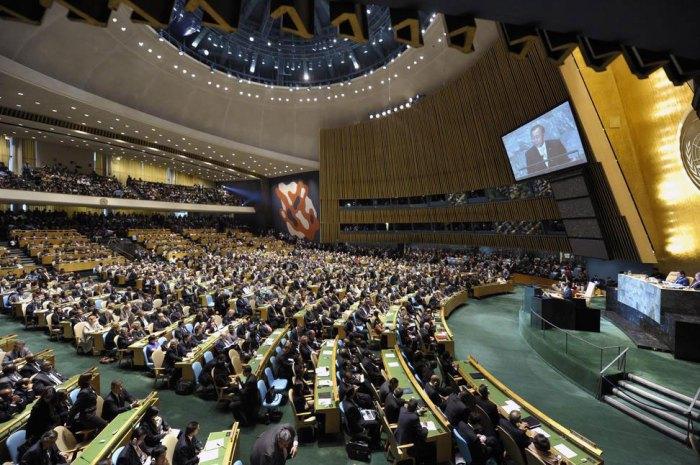 Assembleia Geral da ONU. Foto: ONU.